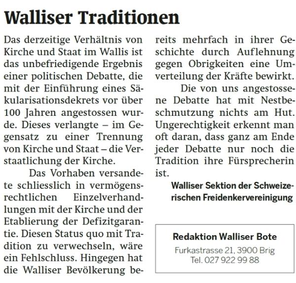 WalliserTraditinen